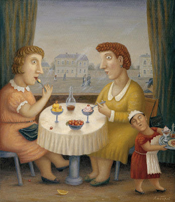 Painting by Russian Artist Vladimir Lubarov