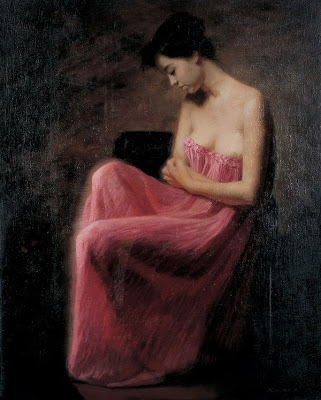 Women in Painting by Chinese Artist Xie Chuyu