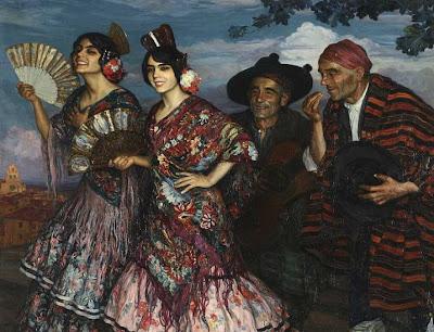 Painting by Joan Cardona Llados Spanish Artist