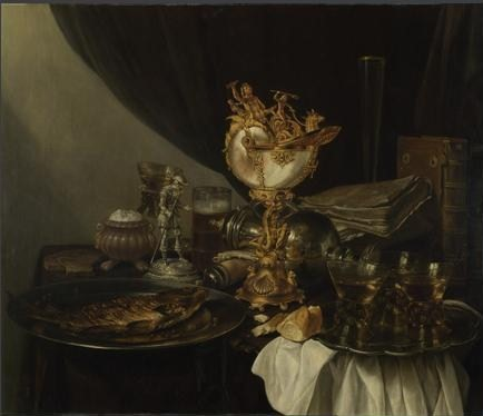 Willem Claesz Heda, Dutch Baroque Painter,still life