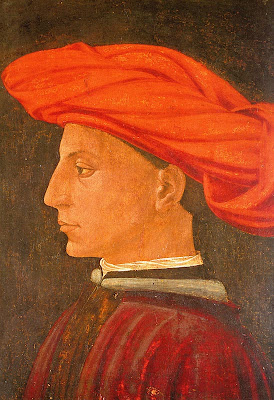 Portrait of a Young Man by Masaccio (Tommaso di Giovanni)