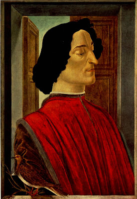 Portrait of Giuliano de Medici by Sandro Boticelli