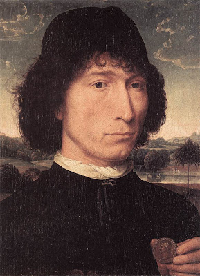 Man with a Roman Coin by Hans Memling