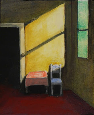 Interior Painting by American Artist Treacy Ziegler