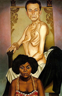 Portrait Painting by Christian Schad German Artist