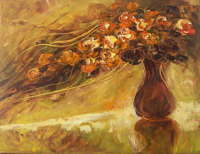 Painting by Polish Artist Malgorzata Kruk