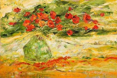 Oil Painting by Polish Artist Malgorzata Kruk