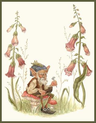 Illustration by American Artists Lauren Mills and Dennis Nnolan