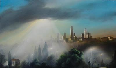 Painting by Giovannini Andrea Italian Artist
