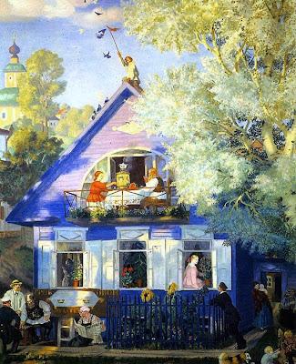 Paintings by Boris Kustodiev Russian Artist