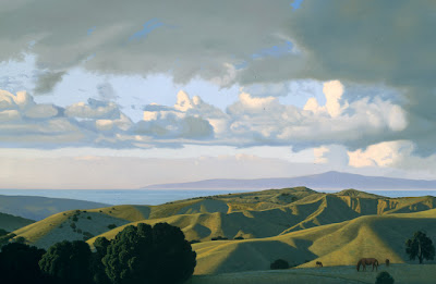 Landscape Painting by David Ligare American Artist