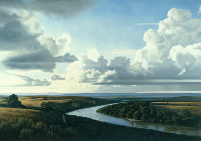 Landscape Painting by American Artist David Ligare