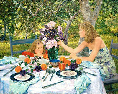 Painting by American Artist David P. Hettinger