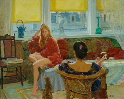 Oil Painting by American Artist David P. Hettinger