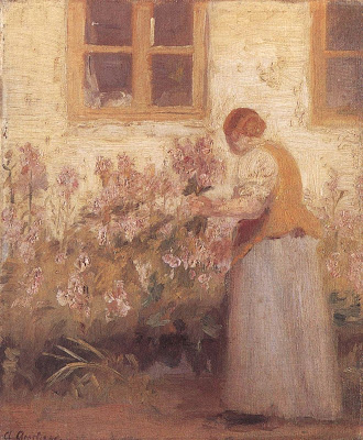Impressionist Painting by Anna Ancher Danish Artist