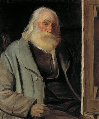 Portrait Painting by Anna Ancher Danish Artist