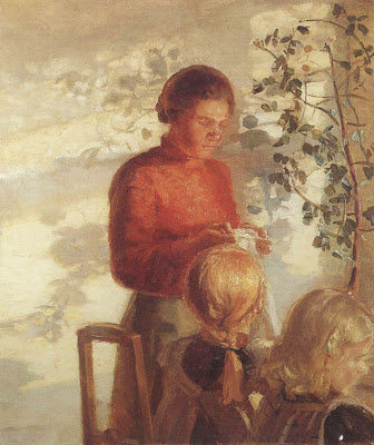 Paintings by Anna Ancher Danish Impressionist Artist