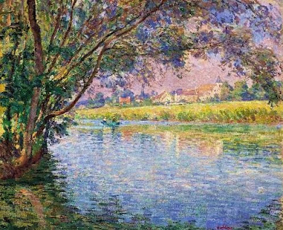 Landscape Painting by French Artist Henri Lebasque