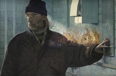 Oil Painting by Canadian Artist Jacques Leveillé