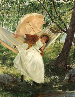 Painting by Robert Thegerstrom