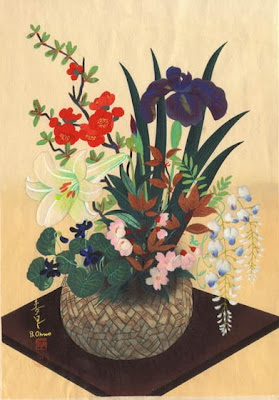 Art of Japanese Painter and Printmaker Bakufu Ohno