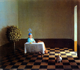 Painting by German Artist Michael Sowa