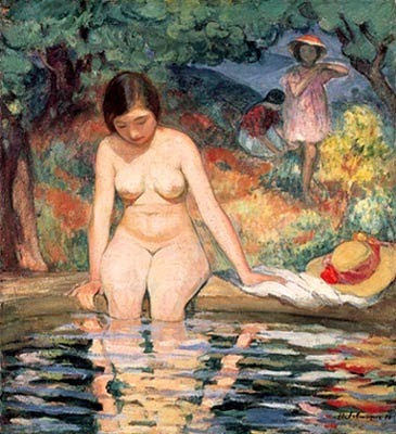Women in Painting by Henri Lebasque French Artist
