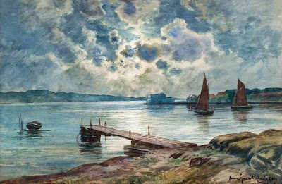 Landscape Painting by Swedish Artist Anna Gardell-Ericson