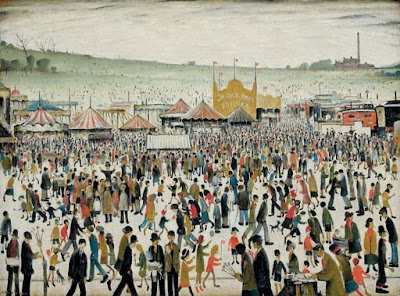Good Friday in Painting. Laurence Steven Lowry. Good Friday, Daisy Nook