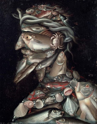 Paintings by Giuseppe Arcimboldo The Admiral