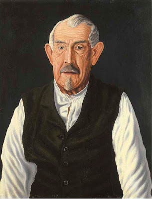 Portrait Paintings by Swiss Naive Artist Adolf Dietrich