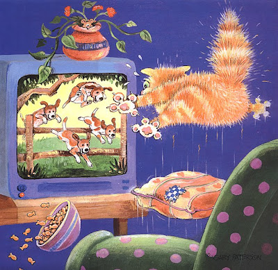 Illustration by American Artist Gary Patterson