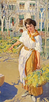 Women in Painting by Spanish Artist Laureano Barrau