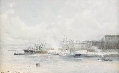 Watercolors by Swedish Artist Anna Palm