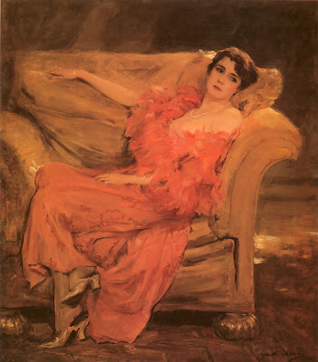 Painting by John Quincy Adams Luise Eisner, later Princess Odescalchi