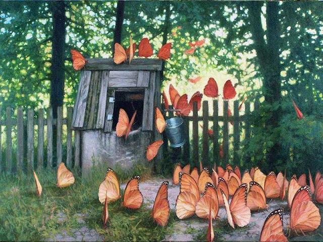Oil Painting by Polish Artist Joanna Sierko