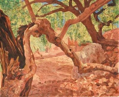 Landscape Painting by Dutch Artist Herman Bieling