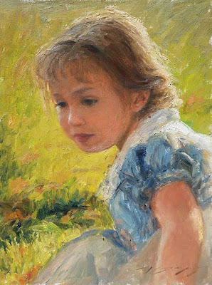 Children in Painting by Trent Gudmundsen
