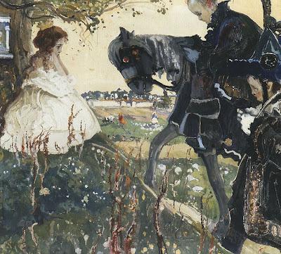 Painting by Polish Artist Witold Wojtkiewicz