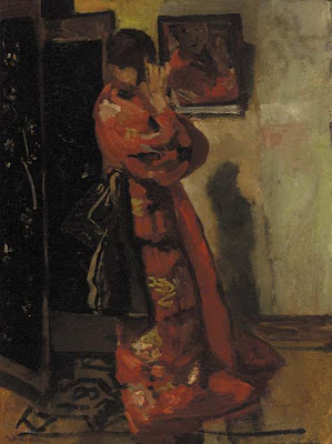 Painting by Dutch Artist George Hendrik Breitner