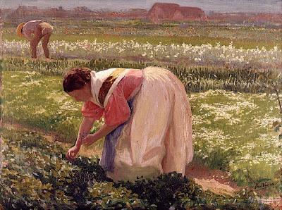 Painting by Spanish Artist Ricardo Verde Rubio
