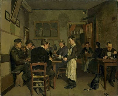 Painting by Swiss Art Nouveau Artist Ferdinand Hodler