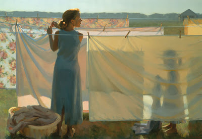 Figurative Painting by American Artist Jeffrey T. Larson