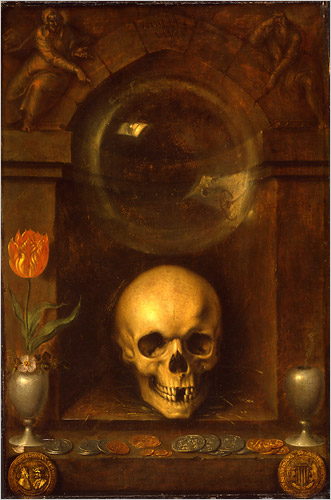 Jacques de Gheyn the Elder  Still Life,Crystal Ball in Painting, oil paintings, canvas painting,Figurative painting