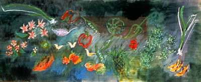 Loren MacIver. Garden,1987