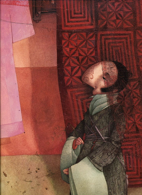 childrens book illustration,contemporary artists,French artists, graphics, illustration, Rebecca Dautremer 'Cyrano'