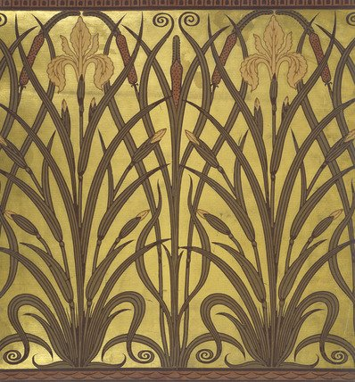 You Can Also Find The Latest Images Of Art Nouveau Wallpaper Border In Gallery Below