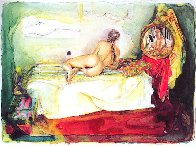 contemporary art Italian artists, watercolors,contemporary artists watercolorists