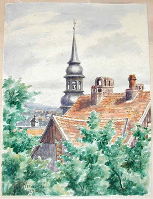 Hitler's Drawings and Watercolors