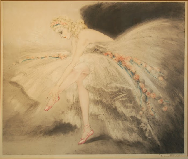 Etchings by Louis Icart Art Deco Artist